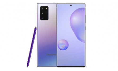 Samsung Galaxy Note 20 series renders surface with Key Specifications