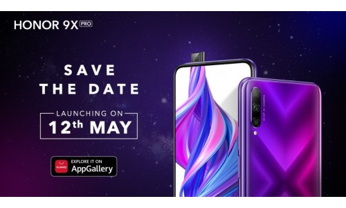 HONOR 9X Pro to be launched on May 12  in India with 6.59-inch FHD+ display, Kirin 810 SoC, Honor AppGallery