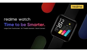 Realme Watch launched in India at Rs. 3999 with 1.4-inch color touch display, SpO2 monitor