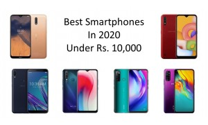 Best Smartphones in 2020 Under Rs. 10,000 in India.