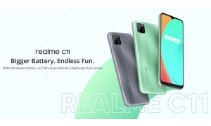 Realme C11 announced with 6.5-inch Mini drop display, Helio G35, 5000mAh battery