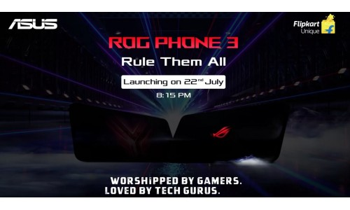 ASUS ROG Phone 3 launching in India on July 22 with Snapdragon 865+, 16 GB RAM