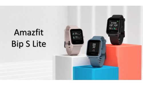 Amazfit Bip S Lite launching in India on July 29 with 1.28-inch color touch display, up to 30 days battery life