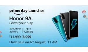 HONOR 9A launched in India for Rs.9,999 with 6.3-inch FullView display, 5000mAh battery alongside HONOR 9S at Rs.6,499