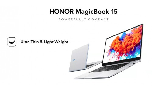 HONOR MagicBook 15 launching in India on July 31 with Ryzen 5 CPU, pop-up camera, fingerprint sensor