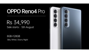 OPPO Reno4 Pro launched in India for Rs. 34990 with 6.5-inch FHD+ AMOLED 90Hz display, Snapdragon 720G, 48MP quad rear cameras