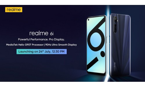 Realme 6i launching in India on July 24 under Rs.15,000 with 6.5-inch FHD+ 90Hz display, Helio G90T SoC