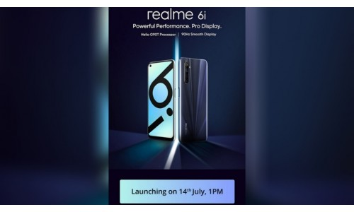 Realme 6i launching in India on July 14 under Rs.15,000 with 6.5-inch FHD+ 90Hz display, Helio G90T SoC