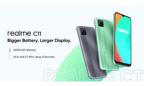 Realme C11 launched in India for Rs. 7499 with 6.5-inch Mini drop display, Helio G35, 5000mAh battery
