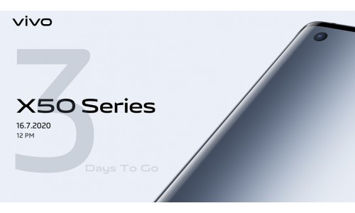 Vivo X50 Series launching in India on July 16 with 6.56-inch AMOLED 120Hz display, Quad rear camera