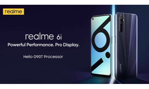 Realme 6i launched in India starting at Rs. 12999 with 6.5-inch FHD+ 90Hz display, Helio G90T, 48MP quad rear cameras