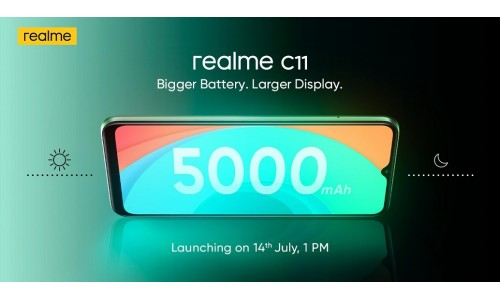 Realme C11 launching in India on July 14 with 6.5-inch Mini drop display, Helio G35 SoC, 5000mAh battery