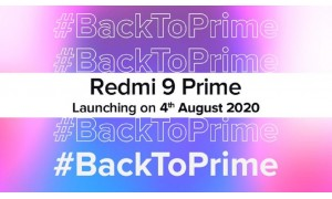 Redmi 9 prime to be launch in India on August 4.