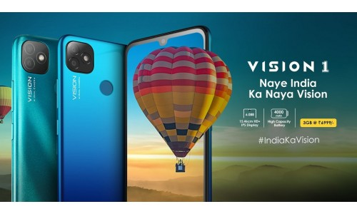 Itel Vision 1 launched in India for Rs. 6999 with 6.088-inch HD+ display, 4000mAh battery, Dual Rear Camera