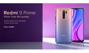 Redmi 9 Prime launched in India starting at Rs. 9999 with 6.53-inch FHD+ display, Helio G80 SoC, up to 128GB Storage