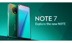 Infinix Note 7 launching in India on September 16 with 6.95-inch Infinity-O display, 48MP quad rear cameras, 5000mAh battery
