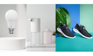 Xiaomi launched Mi Smart LED Bulb (White), Mi Automatic Soap Dispenser and Mi Athleisure Shoes in India starting from Rs. 499.