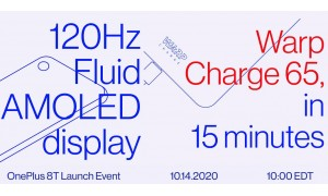 OnePlus 8T 5G will officially come with 120Hz Fluid AMOLED display, Warp Charge 65W fast Charging, confirms CEO ahead of launch.