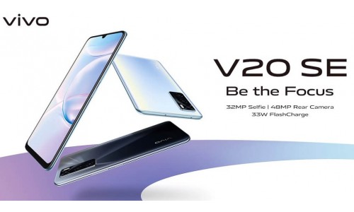 Vivo V20 SE launched with 6.44-inch FHD+ AMOLED display, 48MP triple rear cameras, 33W fast charging
