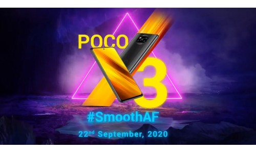POCO X3 launching in India on September 22 with 6.67-inch FHD+ 120Hz display, Snapdragon 732G, 64MP quad rear cameras