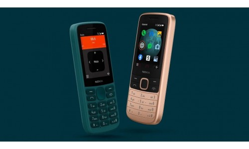HMD Global launched Nokia 215 4G and Nokia 225 4G feature phones in India starting at Rs.2,949