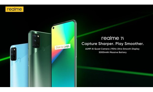Realme 7i launched in India starting at Rs.11,999 with 6.5-inch 90Hz display, 64MP quad rear cameras, 5000mAh battery