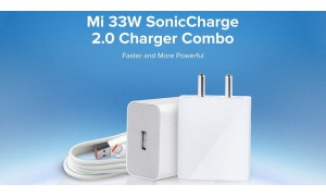 Xiaomi Mi 33W SonicCharge 2.0 Charger Combo launched in India at Rs.999