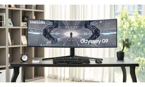 Samsung launched Odyssey G7 32-inch & 27-inch QHD, Odyssey G9 49-inch DQHD QLED curved gaming monitors in India with 240Hz Refresh rate