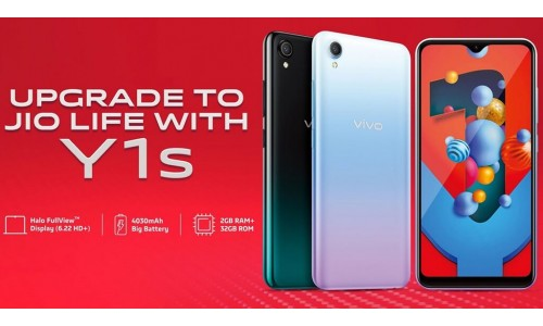 Vivo Y1s launched in India at Rs.7,990 with 6.22-inch Halo FullView display, 4030mAh battery