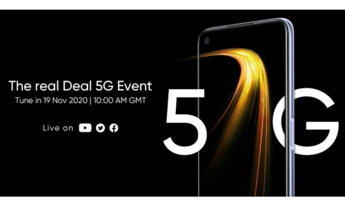 Realme 7 5G Smartphone will be launch on November 19.
