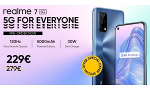 Realme 7 5G announced with 6.5-inch FHD+ 120Hz Display, 48MP quad rear camera, 30W fast charger