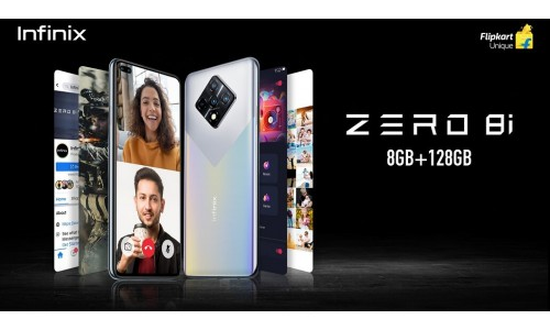 Infinix Zero 8i launched in India for Rs.14,999 with 6.85-inch FHD+ 90Hz display, Helio G90T, dual front cameras
