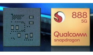 Qualcomm Snapdragon 888 5nm 5G Mobile Platform with Kryo 680 CPUs, Adreno 660 GPU, built-in Snapdragon X60 5G modem