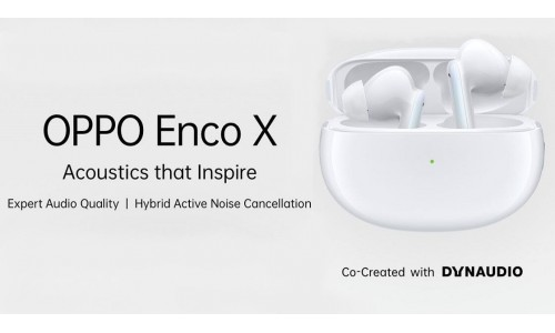 OPPO Enco X launched in India at Rs.9,999 with Hybrid Active Noise Cancellation, Bluetooth 5.2, wireless charging