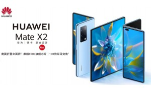 HUAWEI Mate X2 launched with 8-inch 90Hz OLED foldable display, Kirin 9000 5G, Leica 50MP Quad Cameras