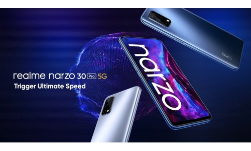Realme narzo 30 Pro 5G launched in India starting at Rs.16,999 with 6.5-inch FHD+ 120Hz display, Dimensity 800U alongside Realme Mobile Game Controller and more