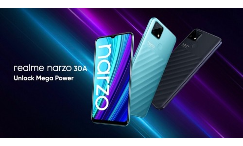 Realme narzo 30A launched in India starting at Rs.8,999 with 6.5-inch display, Helio G85 SoC, 6000mAh battery