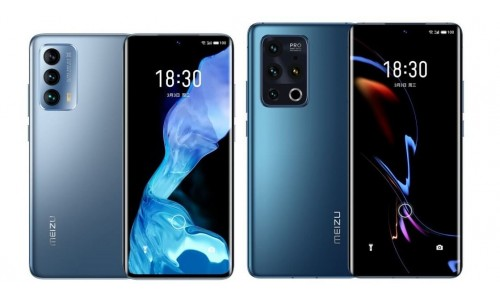 Meizu 18 and 18 Pro launched with 6.2 / 6.7-inch Quad HD+ 120Hz AMOLED curved display, Snapdragon 888 SoC