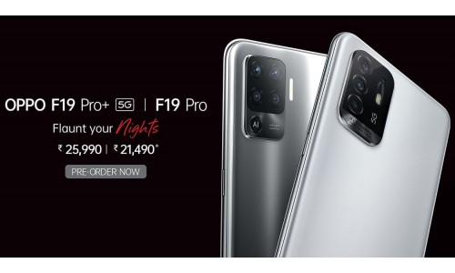 OPPO F19 Pro and F19 Pro+ 5G launched in India starting at Rs.21,490 with 6.5-inch FHD+ AMOLED display, 8GB RAM