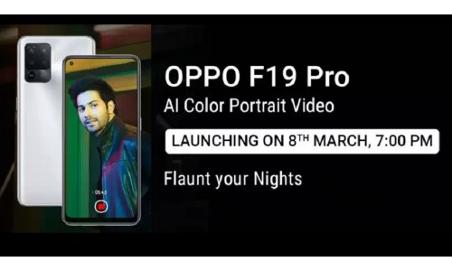 OPPO F19 Pro+ 5G and OPPO F19 Pro to be Launched in India on March 8 with Dimensity 800U / Helio P95 SoC