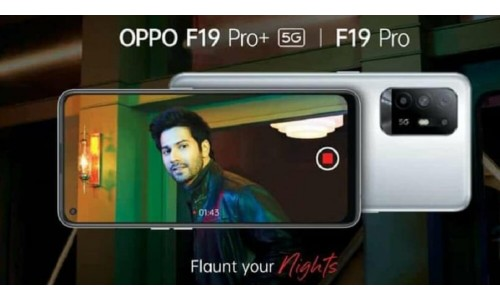 OPPO F19 Pro+ 5G and OPPO F19 Pro to be Launched Soon in India, Teaser Released