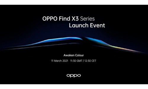 OPPO Find X3 Pro to be launched on March 11 with 6.7-inch QHD+ 120Hz OLED display, Snapdragon 888 alongside Find X3 5G and Find X3 Lite