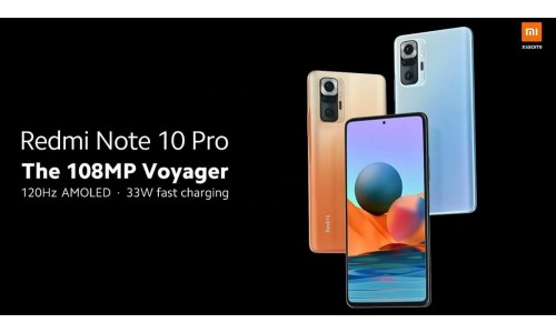 Redmi Note 10 Pro and Note 10 Pro Max launched in India starting at Rs.15,999 with 6.67-inch FHD+ AMOLED 120Hz display, Snapdragon 732G SoC