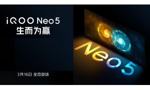 iQOO Neo 5 5G to be launched on March 16 with FHD+ 120Hz AMOLED display, Snapdragon 870 SoC, 88W Fast Charging