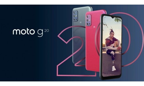 Motorola Moto G20 launched with 6.5-inch Max Vision 90Hz display, 48MP quad rear cameras