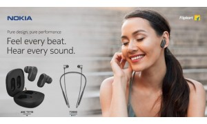 Nokia Bluetooth Headset T2000 and True Wireless Earphones ANC T3110 launched in India starting at Rs.1,999