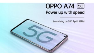 OPPO A74 5G launching in India on April 20 under Rs.20,000 with 90Hz Hyper-color display,  Snapdragon 480SoC