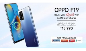 OPPO F19 launched in India at Rs.18,990 with 6.43-inch FHD+ AMOLED display, 48MP triple rear cameras, 33W Flash Charger