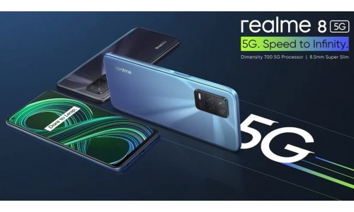 Realme 8 5G launched in India starting at Rs. 14999 with 6.5-inch FHD+ 90Hz display, Dimensity 700 SoC, 8GB RAM