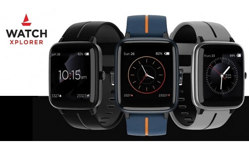 boAt Xplorer Smartwatch launched in India for Rs.2,999 with 1.3-inch color touch display, built-in GPS
